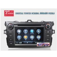 Wholesale Autoradio for Toyota Corolla Car Stereo DVD GPS Navigation System for Toyota Corolla 2007+ from china suppliers