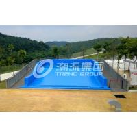 Buy cheap Attractive Surfing Flowrider Water Ride Extreme Sport Fun 21.7m * 13.4m For Water Park from wholesalers