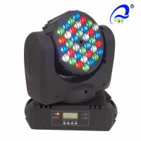 Wholesale Tri - Color DMX 512 LED Wash Moving Head Lamp , Indoor Beam Led Stage Wash Lights from china suppliers
