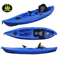 Wholesale Blue / Yellow Plastic Fishing Kayaks And Boat With Single And Double Seats from china suppliers