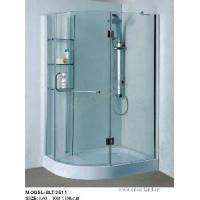 Buy cheap Tempered Glass Shower Enclosure (SLT-2511) from wholesalers