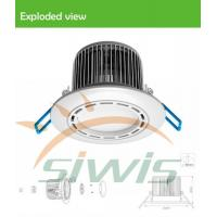 Wholesale Dimmable Led Recessed Downlights 7 Watt 700lm 120 Degree 85-265vac from china suppliers