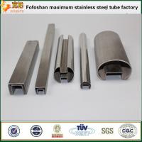 Wholesale Stainless steel pipes 304 material slotted pipe tubing from china suppliers