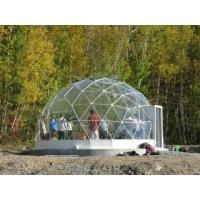 Wholesale Outdoor Matel Frame Spherical Tents With Fiberglass Cover Diameter 30m - 60m from china suppliers