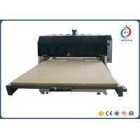 Wholesale Low Noise Automatic Heat Transfer Machine Hydraulic Dual Station Fabric Flatbed from china suppliers