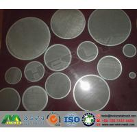 Wholesale Wire Mesh Discs, Metal Mesh Discs, Wire Mesh filters from china suppliers