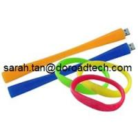 Wholesale Bracelet USB Flash Drives Made by Silicone, 100% New and Original Memory Chip DR-FS139 from china suppliers