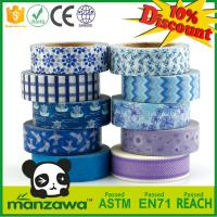 Quality Hot selling china factory custom printing washy tape for diy decoration for sale