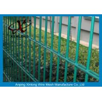 Wholesale Strongly Double Wire Fence Powders Sprayed Coating For High Security Area from china suppliers