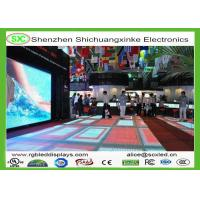 Wholesale Interactive DJ LED Dance Floor / WIFI Control LED Video Dance Floor , DC15V Voltage from china suppliers