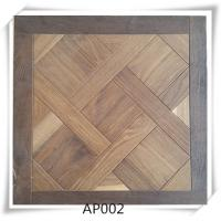 Quality Oak parquet flooring , UV lacquer,Brushed, smoked, 15/4*600*600mm for sale