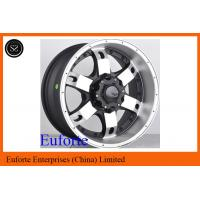Wholesale 15inch 16inch Black Custom Off Road Truck Wheels , Alloy Wheel Rims from china suppliers