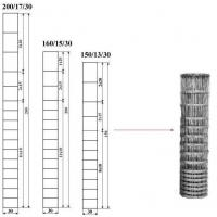 Wholesale Galvanized Iron Field Wire Fence , Electric Welded Wire Fabric For Livestocks from china suppliers