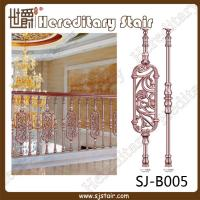 Quality Elegant Casting Aluminum Balustrade for Stair (SJ-B005) for sale