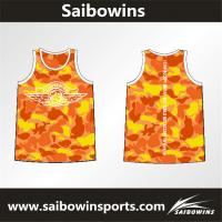 100% Polyester Sublimation Breathable Customized Best Basketball Uniform