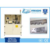 Wholesale PLC Control Automatic MIG Welding Machine For Steel Door Hinge , ISO Standard from china suppliers