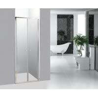 Wholesale Straight Bathroom Shower Enclosures Double Pivot Shower Doors from china suppliers