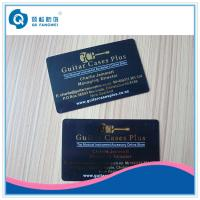Wholesale Golden PVC Plastic Card Printing , Hot Stamping Business Cards from china suppliers