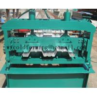 Quality Automated PLC Control  High Precision Steel Structure Floor Deck Roll Forming Machine For Metal Decking Sheet for sale