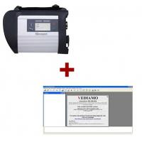 Wireless star diagnostic tool mb sd connect compact 4 plus for Best mercedes benz diagnostic tool