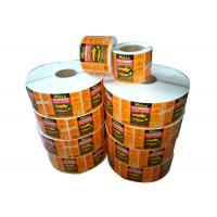 Wholesale Removable Adhesive Print Sticker Labels Vinyl Private Label For Food / Personal Care from china suppliers