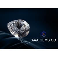 Wholesale Excellent Cut Supper White Pear Diamond Moissanite For Necklace from china suppliers