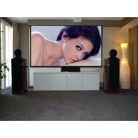 "Wholesale Collapsible Motorized Projection Screens For Projector / big outdoor portable movie screen 180"" from china suppliers"