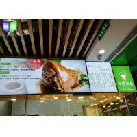 Wholesale Frameless Edge Lit Restaurant Menu Light Box Illuminated Menu Signs Snap Frame from china suppliers