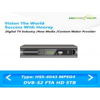 Wholesale Satellite DVB S2 Set Top Box H.264 MPEG-2 Multi language OSD Support 22K Switcher from china suppliers