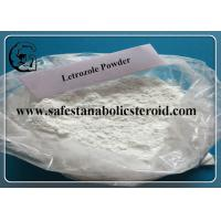 Wholesale Letrozole For Breast Cancer Anti Estrogen Femara Hormone Powder CAS 112809-51-5 from china suppliers