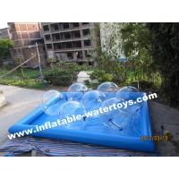 Wholesale Durable 0.6mm Inflatable Water Pools , Fashion Water Park Water Walking Ball from china suppliers