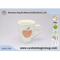 Quality Handle Temperature Sensitive Custom Magic Mug Porcelain For Coffee / Beverage for sale