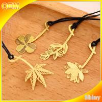 Wholesale Cute Brass Metal Book Marks Custom Christmas Ornaments Embossed Decoration from china suppliers