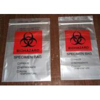 Quality Polyethylene Plastic Heat  Sealing Biohazard Bags meet FDA and EU standard for sale