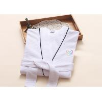 Wholesale Environment Friendly Dying Luxury Bath Robes , Terry Towelling Dressing Gown from china suppliers