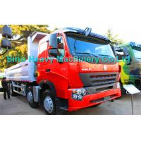 Quality 8x4 Heavy Duty Dump Truck for Unloading, EURO II and EURO III emission standard for sale