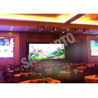 Wholesale Hire High Resolution Indoor Led Displays Video Wall 17222 Dots / ㎡ Programmable from china suppliers