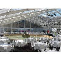 Wholesale Luxury Transparent Wedding Marquee Party Tent , Well Decorated Waterproof Party Tent from china suppliers