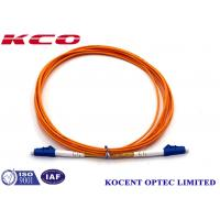 Wholesale PVC LSZH 2.0m Fiber Optic Patch Cord MM  LC/UPC-LC/UPC 2.0mm from china suppliers
