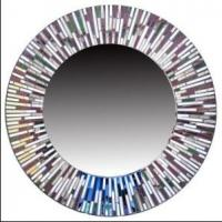 Quality 2013 hot selling fashion round mosaic wall mirror for sale