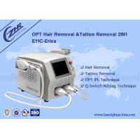 Quality Skin Rejuvenation E Light Laser IPL Machine / Equipment 2 In 1 Acne Treatment for sale