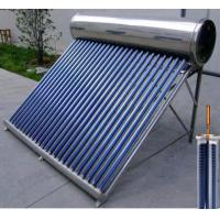 Wholesale 200L Tank Capacity Compact Solar Water Heater Heat Pipe Vacuum Tube Solar Collector from china suppliers