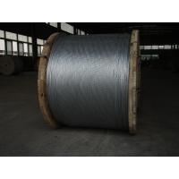 Wholesale Non - Alloy Overhead Ground Wire , EHS Class A 1 2 Galvanized Aircraft Cable from china suppliers