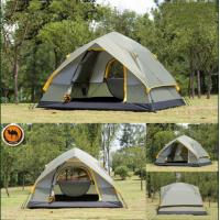Wholesale 4 Season 4 Person  Double-layer Waterproof Windproof Outdoor Hiking Camping Tent from china suppliers