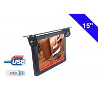 China Commercial Bus LCD Display 15 Inch With Ceiling Mounted Installation on sale