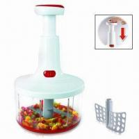 Wholesale Twist Cut Manual Food Processor, Cuts Fruit, Vegetables and Herbs from china suppliers