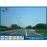 Quality 15m Lamp Steel Lighting  Pole  with High Pressure Sodium for Car Parking Lot for sale