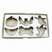 Wholesale 6 Pieces S/S Cookie Cutters, Used for Halloween from china suppliers