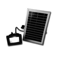 Quality 3W Solar powered LED Flood light sensor garden Security path wall lamp outdoor led spot lightin for sale
