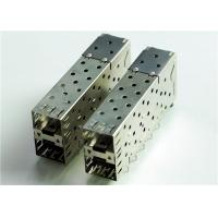 Wholesale 76090-5001 CONN CAGE SFP+ 2X1 W/LIGHT PIPE 	THT, R/A, Board Guide, EMI Shielded from china suppliers